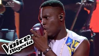 "Nonso Bassey Sings ""Emergency""  Live Show  The Voice Nigeria 2016"