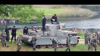 Реконструкция танкового боя Колобанова