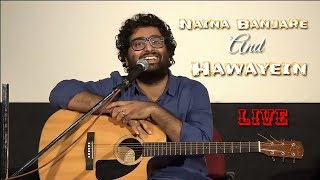 Arijit Singh | Live | Naina Banjare | Hawayein | IFFI | Guitar Version | Full Video | 2018 | HD