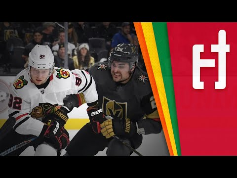 Blackhawks vs Golden Knights Series Preview