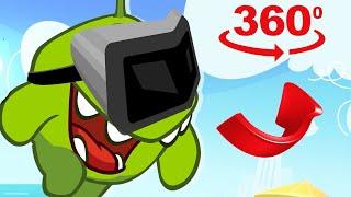 Om Nom 360°: OSPITI INASPETTATI | Animati Cartoni per bambini