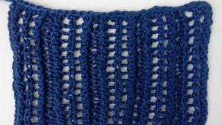 Knitting Patterns *Lace Columns* Lace Stitch