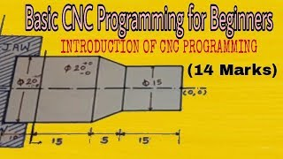 Basic CNC Programming | CNC Programming for beginners | CNC Programming