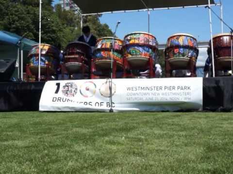 CheonDoong Performing Arts Society @ 1000 Drummers of BC,2 June 21, 2014
