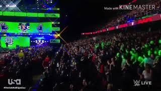 WWEジョン・シナ入場