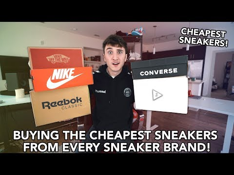 I Bought The CHEAPEST Sneakers From Nike, Adidas, Vans, & Reebok!