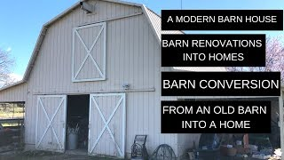 Episode 3 - A Modern Barn House - Barn Renovations - Barn Conversion - From An Old Barn Into A Home
