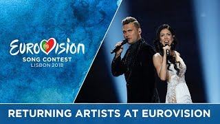 Returning artists at Eurovision: A recipe for success?