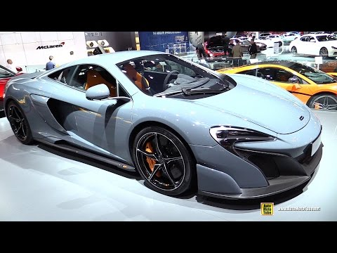 2016 McLaren 675LT - Exterior and Interior Walkaround - 2015 New York Auto Show