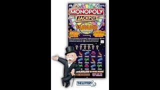 🌴10$ MONOPOLY JACKPOT🌴WINNER😎 FLORIDA SCRATCH OFF TICKETS