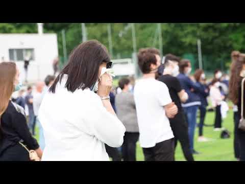 Legnano calcio, i funerali del giocatore Andrea Rinaldi