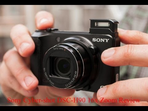 Sony Cyber-shot DSC-H90 Digital Camera 16x Optical Zoom Review