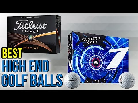 7 Best High End Golf Balls 2017