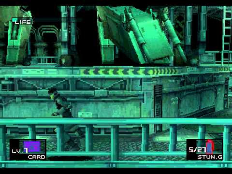 [TAS] PSX Metal Gear Solid