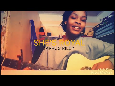 SHE'S ROYAL | Tarrus Riley cover by Stephlicity (strumming and vocals)