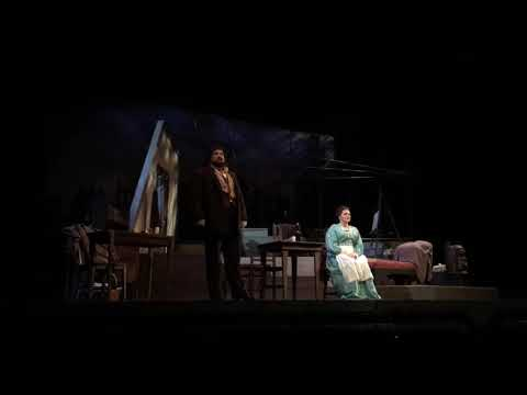 Clips from a live performance of Rodolfo in Puccini's La bohème