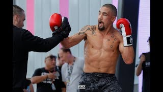 UFC 234: Robert Whittaker Open Workout (Complete)   MMA Fighting