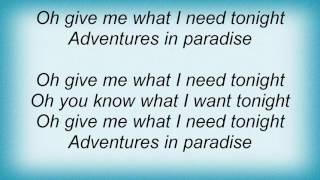 Ace Of Base - Adventures In Paradise Lyrics