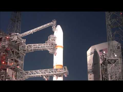 Stunning Launch of United Launch Alliance Delta IV rocket with WGS 6 Spacecraft