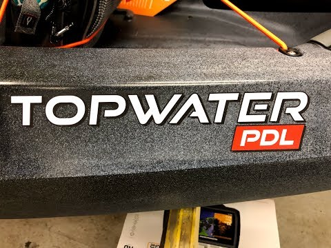 Topwater PDL 2019 | Old Town just delivered their new kayak