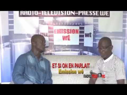 Emission Wê Et si on en parlait avec Marius Péhi pour la final du tournoi de foot à Bangolo