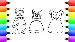 FASHION Drawings For Girls! Casual  (Stylish) Dresses Compilation