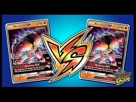 Buzzwole GX / Lycanroc GX Mirror Match – Pokemon TCG Online Gameplay