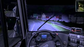 preview picture of video 'Euro Truck Simulator 2 Gameplay (5) : Bicske - Észak Buda'