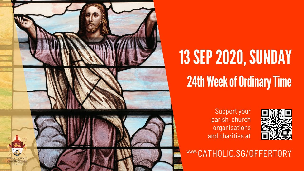 Catholic Sunday Mass 13th September 2020 Today Live Online - Livestream
