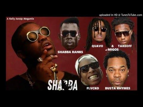 A$AP Ferg – Shabba MEGAMIX (ft. Shabba Ranks Migos Busta Rhymes & A$AP Rocky) + LYRICS