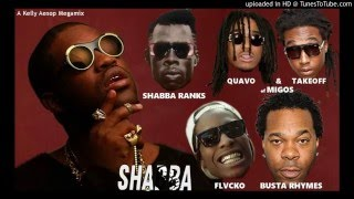 A$AP Ferg - Shabba MEGAMIX (ft. Shabba Ranks, Migos, Busta Rhymes, & A$AP Rocky) + LYRICS