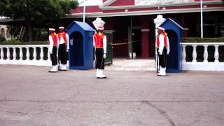 preview picture of video 'Changing of the Sentry, Garrison Historic Area, Barbados'