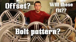 Let's talk about Wheel Fitment! (Bolt Pattern, Offset, etc)