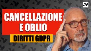 Cancellazione dei dati [GDPR]