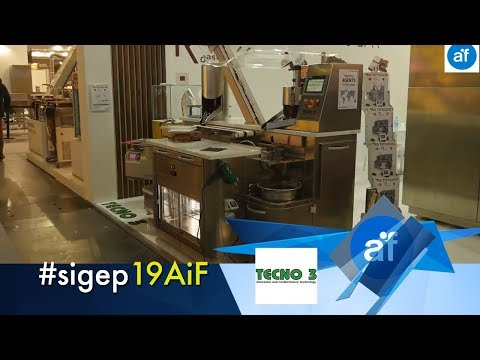 TECNO 3 at SIGEP 2019: cocoa processing machines and plants