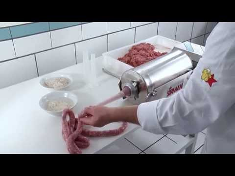 Insaccatrici manuali SIRMAN - Manual sausage fillers stuffers