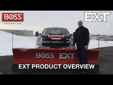 EXT Product Overview | BOSS Snowplow