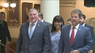 Georgia Insurance Commissioner John King sworn into office