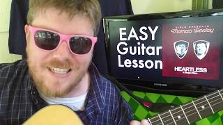 Heartless   Diplo, Morgan Wallen  Easy Guitar Lesson Tabs Easy Chords Beginner Tutorial