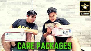 Getting Care Packages While Deployed (2019) | Opening A HeroBox