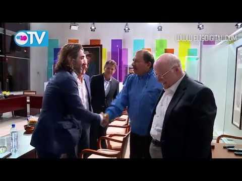Comandante Daniel se reúne con empresarios e inversionistas españoles