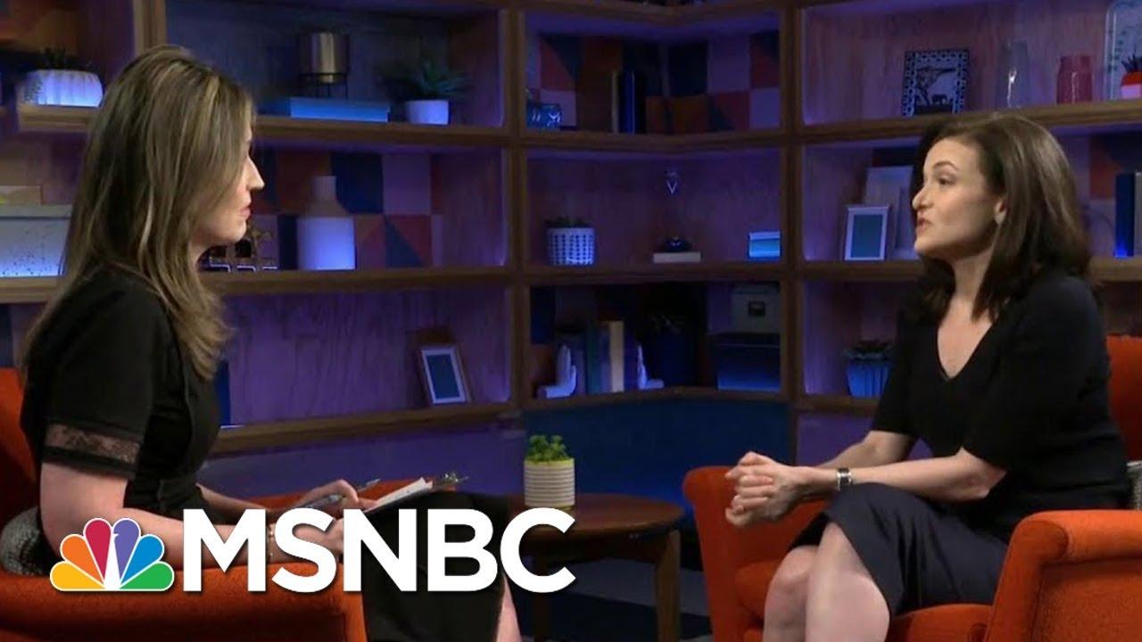 Facebook's COO Sheryl Sandberg: We Could Have Protected Data Sooner   Velshi & Ruhle   MSNBC thumbnail