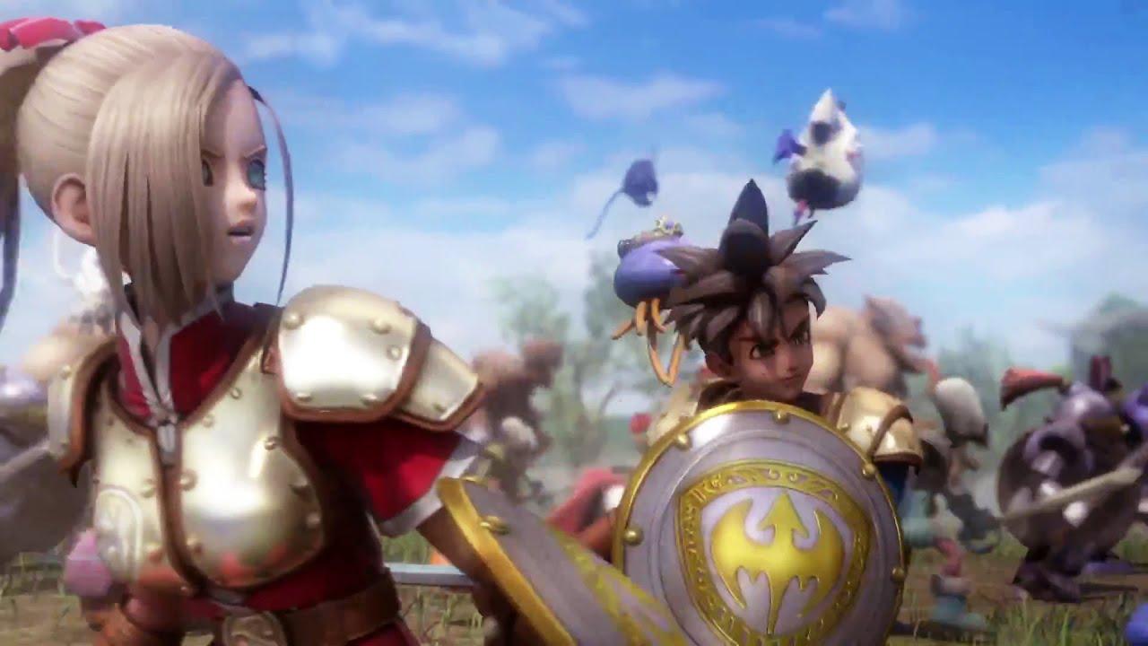 DRAGON QUEST HEROES Trailer (PS4) #VideoJuegos #Consolas