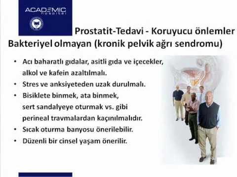 Prostatitis és kezelése és okai