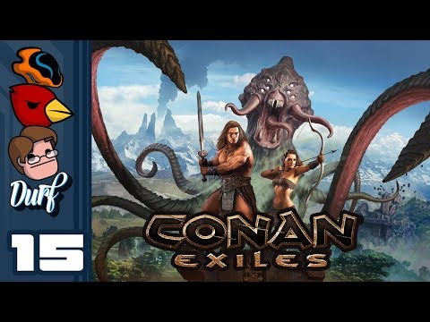 Let's Play Conan Exiles - PC Gameplay Part 16 - Cheese It! It's The