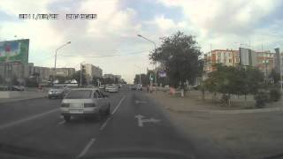 авария в Актау  8.06.2012 в 19.00