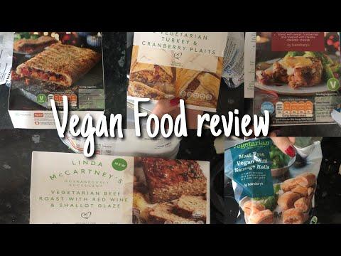Indepth*** Vegan/vegetarian Christmas food review! Taste test   VLOGMAS DAY 8