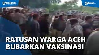 Menolak Divaksin, Ratusan Nelayan dan Pedagang Ikan di Aceh Bubarkan Petugas Vaksinasi