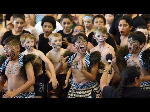 Mass Haka - Turanganui Schools Maori Cultural Festival