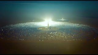 Największa w Chinach elektrociepłownia słoneczna na pustyni Gobi